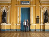 Luật sư Ngô Hữu Nhị và ông Nguyễn Mạnh Thảo, Chủ Nhiệm Ủy Ban Kiểm Tra Liên Minh Hợp Tác Xã Việt Nam, Bào chữa viên nhân dân, trong vụ án-Tham ô tài sản- xảy ra tại Tỉnh Sóc Trăng, tại Tòa Phúc Thẩm Tòa Án Nhân Dân Tối Cao tại TP. Hồ Chí Minh.