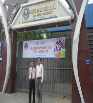 Luật sư Ngô Hữu Nhị giảng dạy Luật Học tại Trường Đại Học Văn Hiến